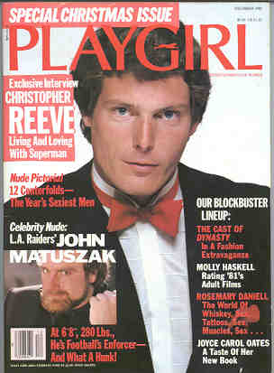 Playgirl Magazine 1982