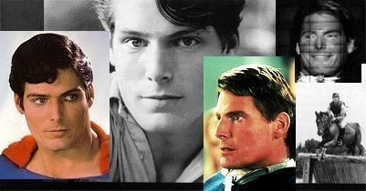 Montage of Chris Reeve Photos